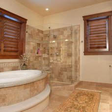 Traditional Bathroom by CD Construction, Inc.