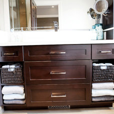 Traditional Bathroom by Pure Bliss Creative Design