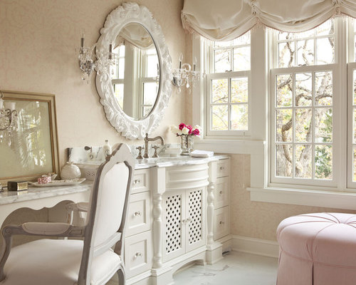 Large Shabby Chic Style Bathroom Design Ideas Renovations