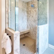 Traditional Bathroom by Beth Rhoades-C&R Remodeling