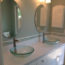 Traditional Bathroom by Stewart Design