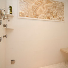 Transitional Bathroom by Sunrise Building & Remodeling Inc