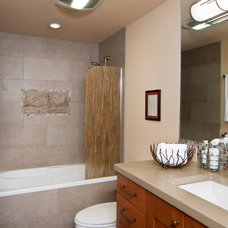 Contemporary Bathroom by Kathleen Donohue, Neil Kelly Co.