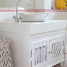 Traditional Bathroom by DESIGN INTERVENTION