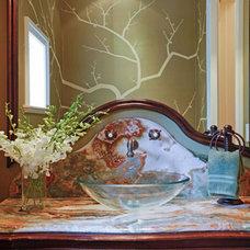 Traditional Bathroom by Charlotte Dunagan Design Group