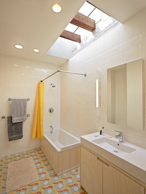 L Shaped Shower Rod Ideas, Pictures, Remodel and Decor
