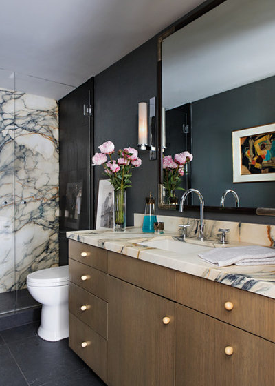 Contemporary Bathroom by John Wooden Interiors