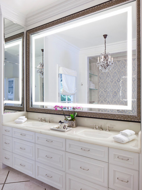 large bathroom mirror houzz