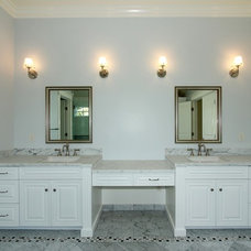 Traditional Bathroom by J&C Cabinets