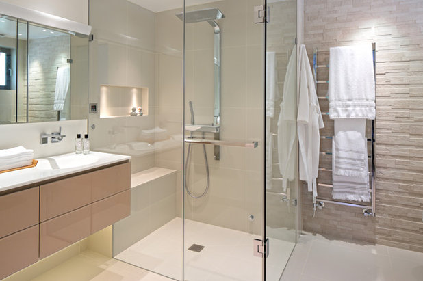 Contemporary Bathroom by Susan Fisher Photography