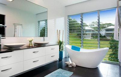 12 vinduestricks til badeværelset: Masser af lys – men også privatliv!