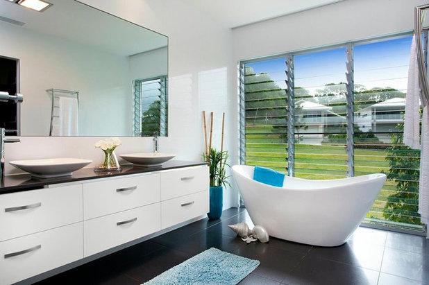 Contemporary Bathroom by Presentation Plus