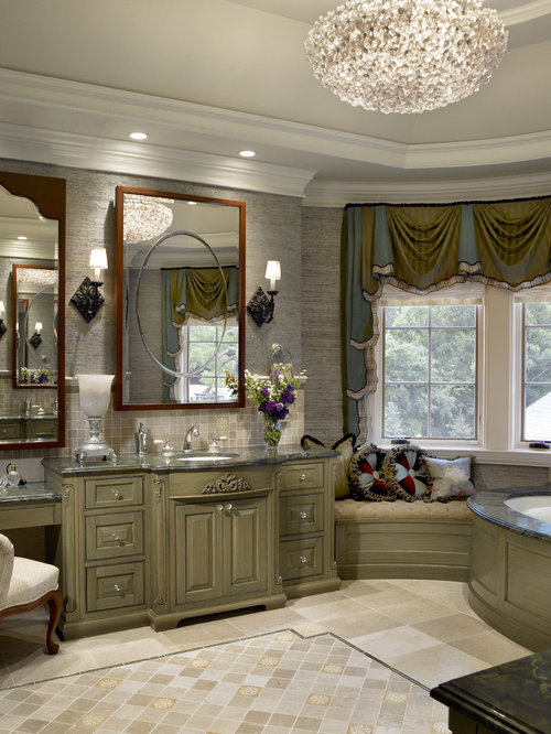 Traditional Chicago Bathroom Design Ideas Remodels Photos