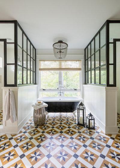Transitional Bathroom By J. Kurtz Design