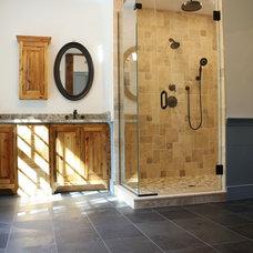 Traditional Bathroom by Thorson Restoration & Construction