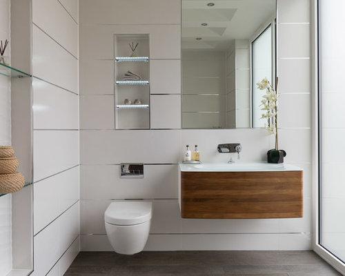 Salle d\'eau moderne Surrey : Photos et idées déco de salles d\'eau
