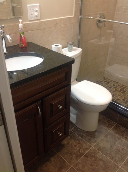 Contemporary Bathroom by One Man And A Hammer