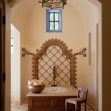 Mediterranean Bathroom by Susan Cohen Associates, Inc.