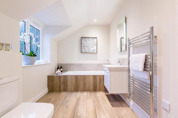 Contemporary Bathroom by Inspired Dwellings