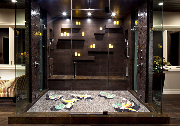 Contemporary Bathroom by Gaskin Designs