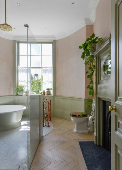 Eclectic Bathroom by ALL & NXTHING