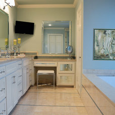 Traditional Bathroom by Kevin Twitty- IBB Designer