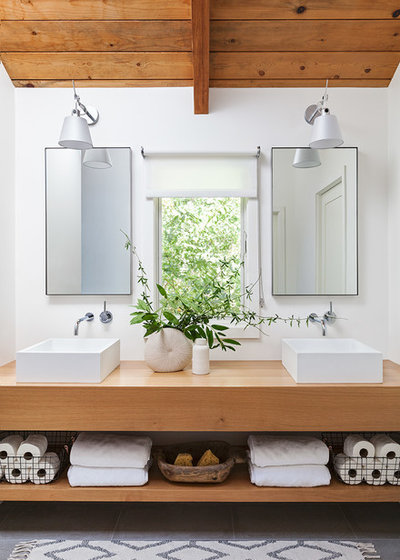 Beach Style Bathroom by Michele Lee Willson Photography