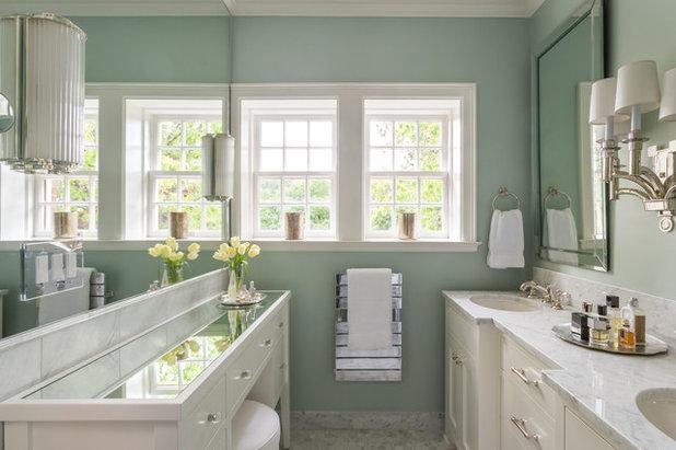 Современная классика Ванная комната by Cornerstone Construction Services