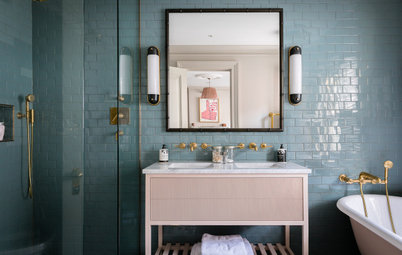 33 of the Loveliest Colourful Bathrooms on Houzz