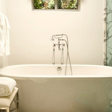 Transitional Bathroom by Elizabeth Dinkel