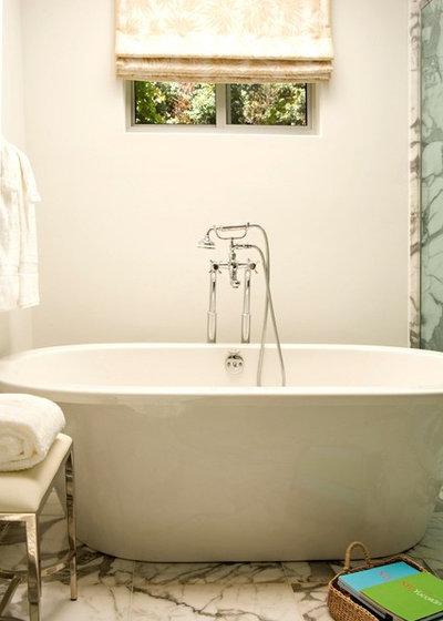 Transitional Bathroom by Elizabeth Dinkel