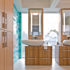 Contemporary Bathroom by Light Positive