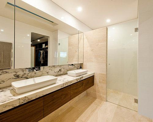 Perth Bathroom Design Ideas Renovations Photos With A Trough Sink
