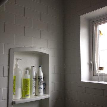 Swanstone shower