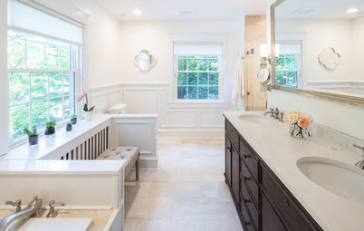Room of the Day: Little-Used Dressing Room Becomes a Master Bath