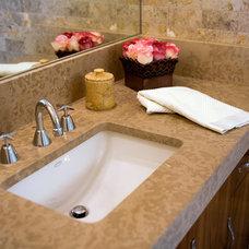 Modern Bathroom by James Glover Residential & Interior Design