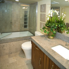 Contemporary Bathroom by James Glover Residential & Interior Design