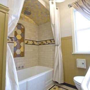 Bild på ett litet eklektiskt en-suite badrum e7a6508f09cb9