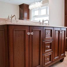 Traditional Bathroom by Barbara Purdy - Purdy & Associates Design