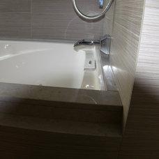 Contemporary Bathroom by Sybaris Interiors LLC