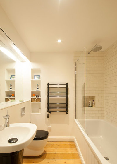 11 Solutions for Windowless Bathrooms