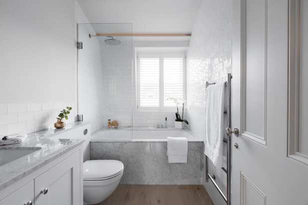 Scandinavian Bathroom By Stone Productions Contracts SPC Ltd