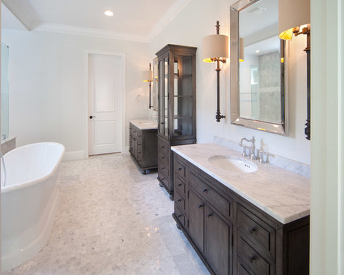 Shabby chic style orlando bathroom design ideas remodels for Bathroom remodel orlando