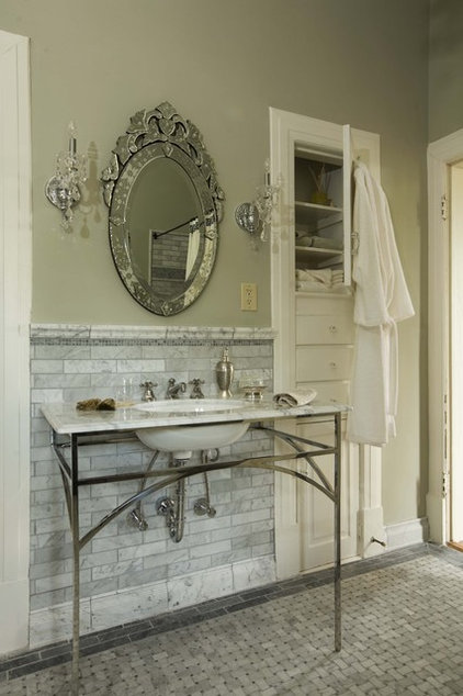Traditional Bathroom by Sylvia Martin