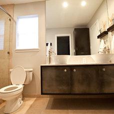 Contemporary Bathroom by Chris Wilhite Design