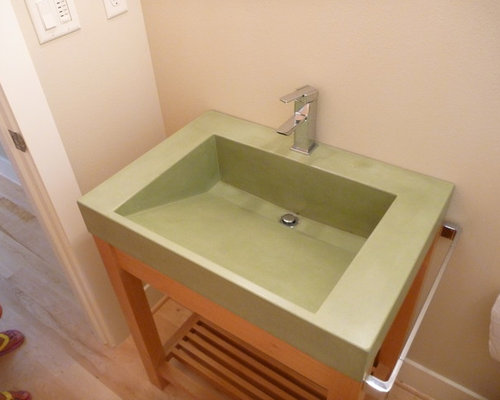 Bathroom Sink 500 X 400 concrete ramp sink | houzz