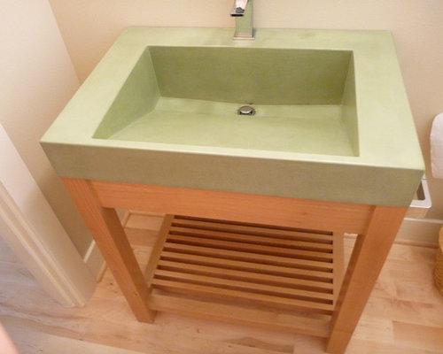 Bathroom Sink 500 X 400 ramp sink   houzz