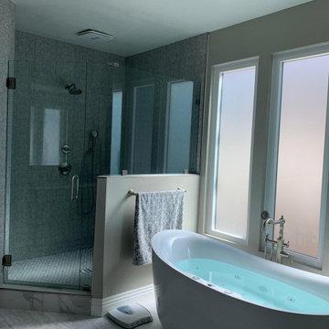 Tabrizi Residence- Master Bathroom Remodel
