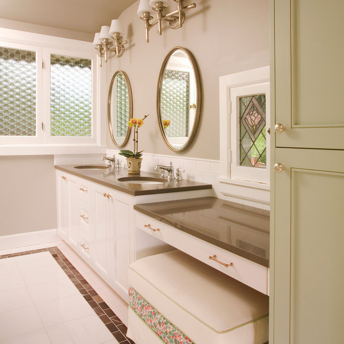 Traditional Kitchen and Bathroom Remodel