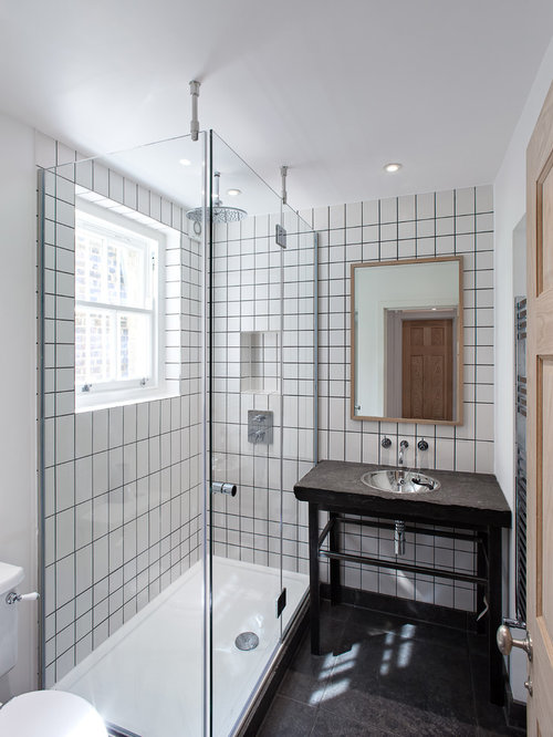 Best all glass showers design ideas remodel pictures houzz for All glass shower